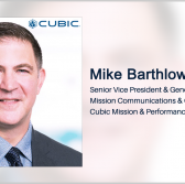 EDJX, Cubic Partner on Internet of Military Things Edge Platform Development; Mike Barthlow Quoted - top government contractors - best government contracting event