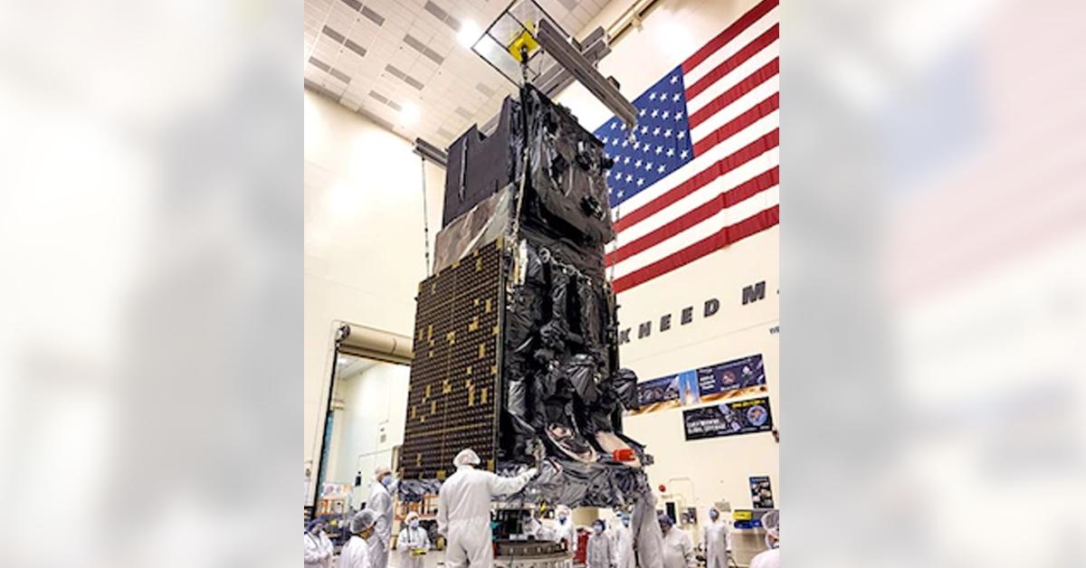Lockheed, Space Force Finish SBIRS GEO-6 Missile Warning Satellite Production