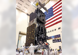 Lockheed, Space Force Finish SBIRS GEO-6 Missile Warning Satellite Production - top government contractors - best government contracting event
