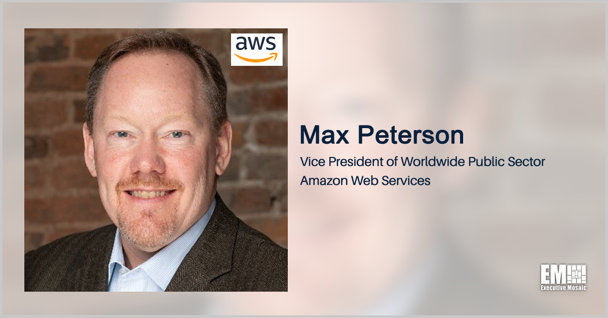 Max Peterson: AWS Innovation Studio to Work With Public Sector to Build Platforms With National, Global Impact