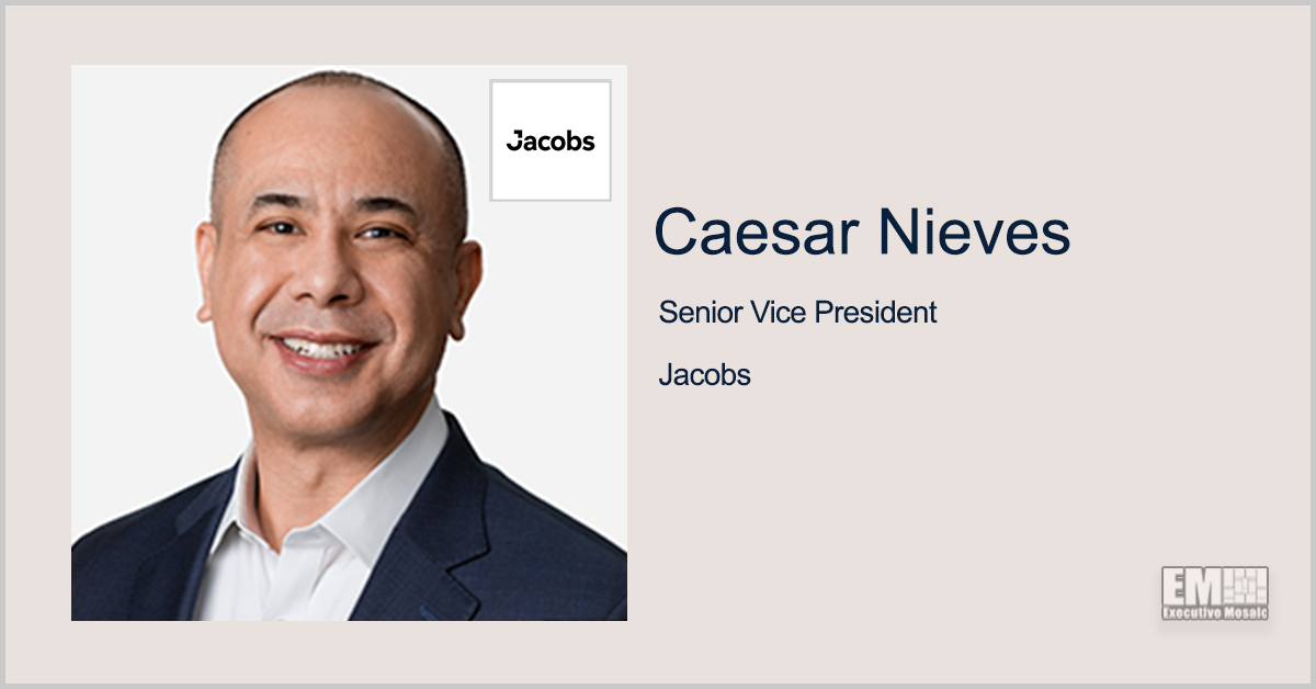 Caesar Nieves: Jacobs to Provide NGA With Geospatial Data Support Services - top government contractors - best government contracting event