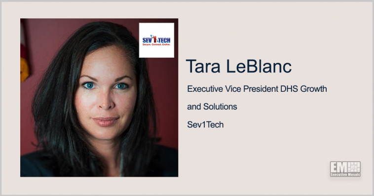Executive Spotlight: Tara LeBlanc, Executive Vice President DHS Growth and Solutions for Sev1Tech: Diversity In Golf Information Technology Scramble - top government contractors - best government contracting event