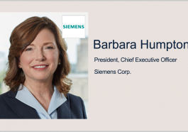 Siemens to Demonstrate Digital Tech for FDA's Advanced Manufacturing Program; Barbara Humpton, Tina Dolph Quoted - top government contractors - best government contracting event