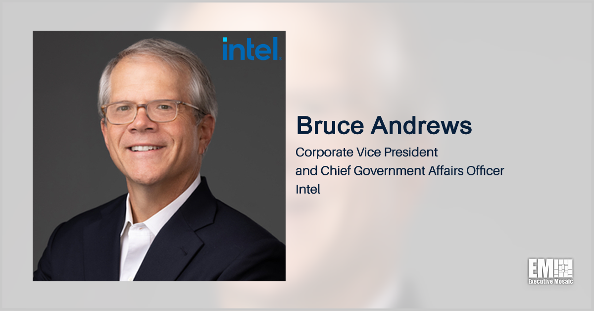 Intel's Bruce Andrews: US Government Incentives Needed to Back Domestic Chip Manufacturing