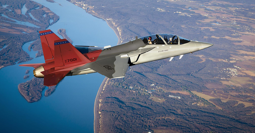 Saab Provides Aircraft Component for Boeing's T-7A Red Hawk Program