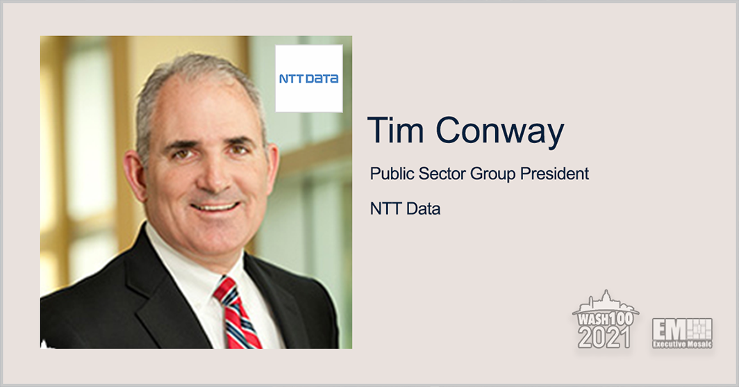 NTT Data Announces 'Smart Back to Work' App for Federal Vaccination Compliance; Tim Conway Quoted