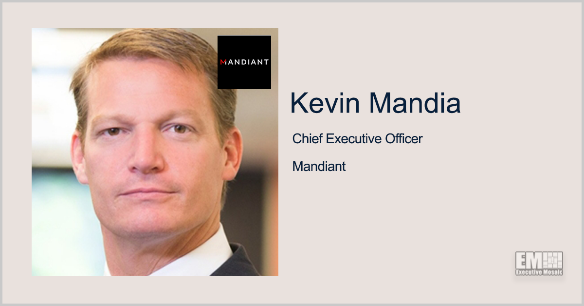 Kevin Mandia: Coordination, Tech Among Keys to Cybersecurity Advancement