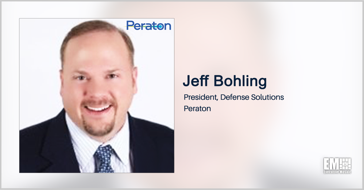 Peraton to Provide IT Support at Army Garrisons in 4 European Countries; Jeff Bohling Quoted
