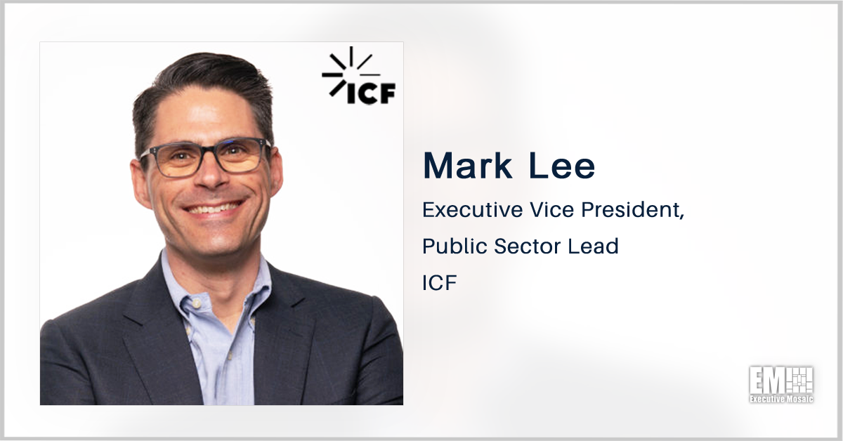 ICF Awarded CDC Recompete Contract for BioSense Health Surveillance Platform; Mark Lee Quoted