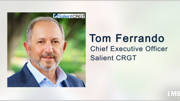 Salient CRGT Books $207M VA Task Order for Network Support Services; Tom Ferrando Quoted - top government contractors - best government contracting event