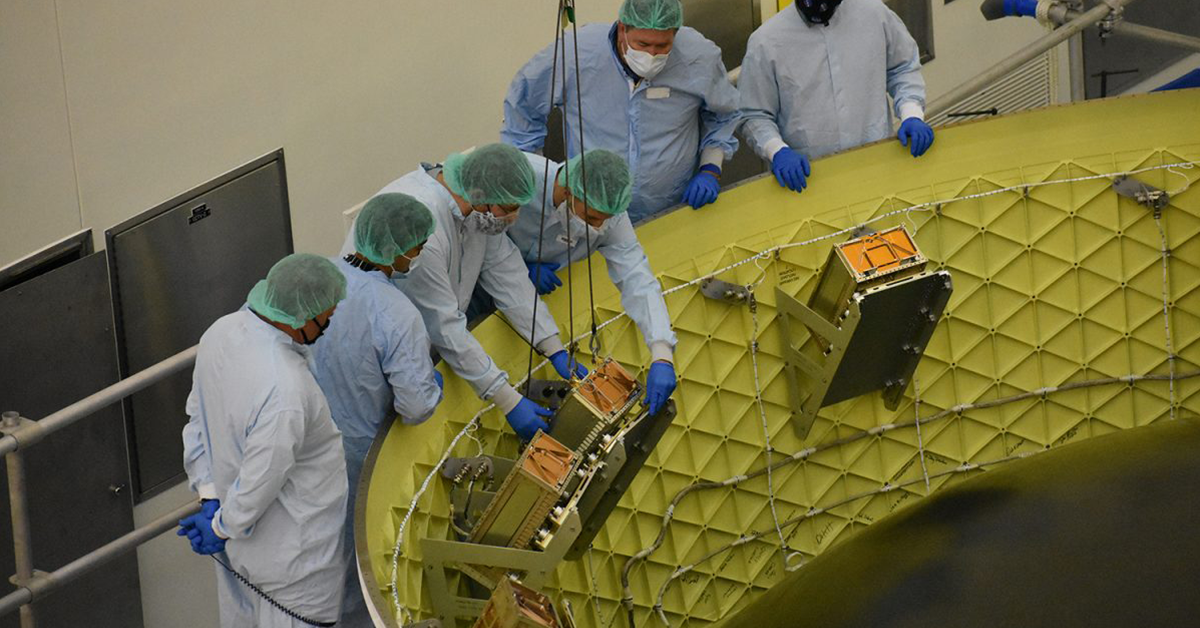 Jacobs, NASA Equip Orion Spacecraft With Secondary Payloads for Artemis I Mission