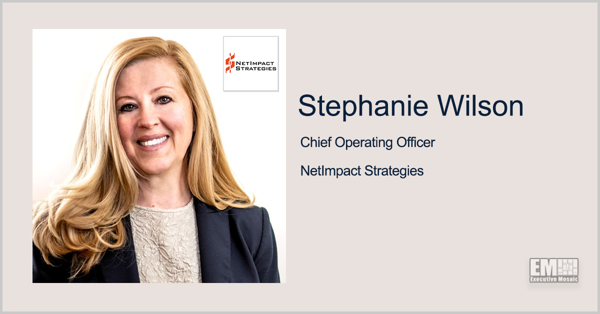 NetImpact Secures DHA Contract for Virtual Education Center Prototype Project; Stephanie Wilson Quoted