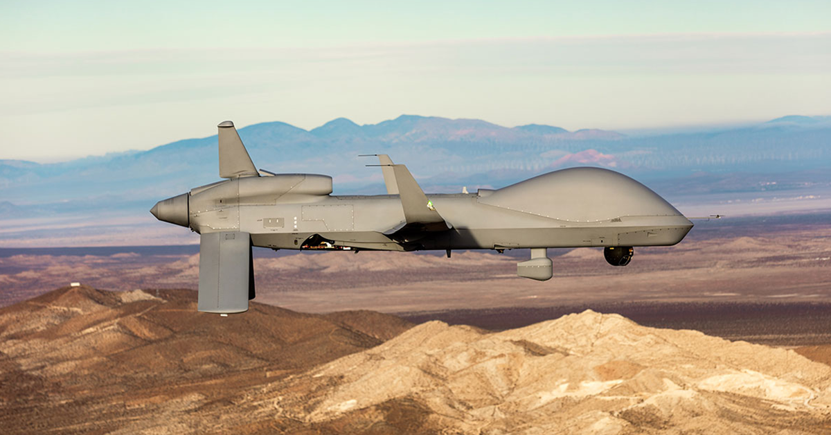 General Atomics Developing Modular Open Systems Approach for Gray Eagle Aircraft