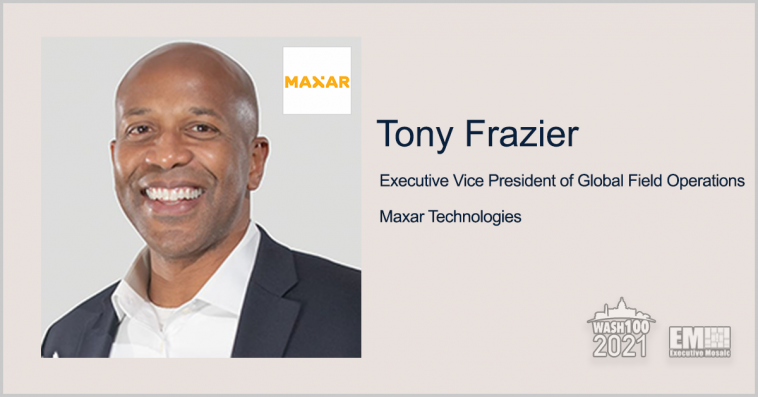 Tony Frazier: Maxar Plans to Meet Demand for High-Fidelity Maps for Autonomous Vehicles - top government contractors - best government contracting event