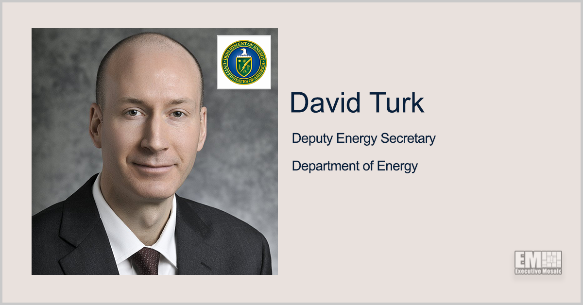 DOE Taps PNW to Demo Clean Hydrogen Production Tech; David Turk Quoted
