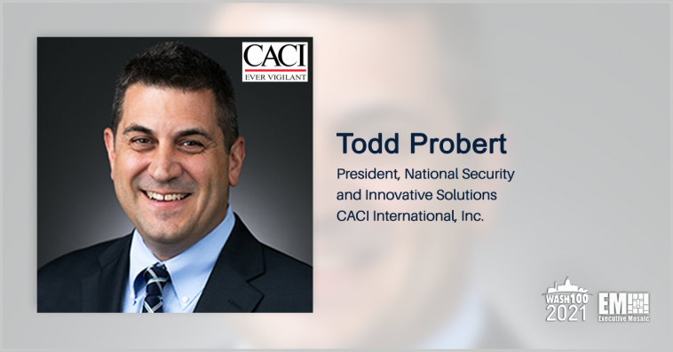 CACI Unveils 2 Counter-Drone Systems; Todd Probert Quoted - top government contractors - best government contracting event