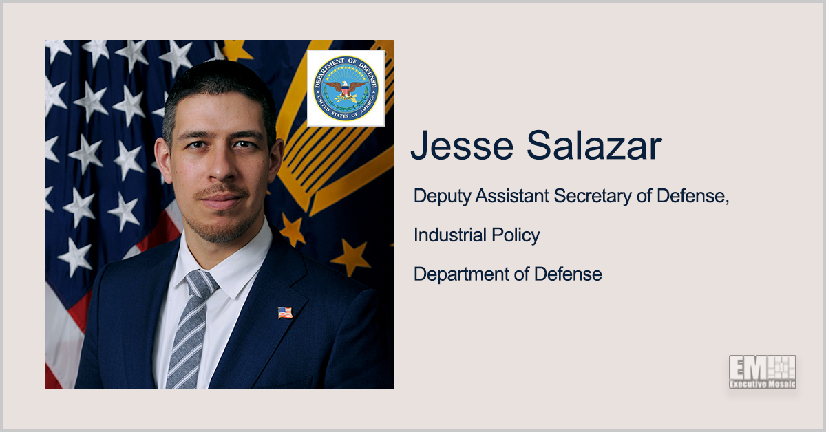 7 Companies Secure DOD Funds for Small UAS Tech Development; Jesse Salazar Quoted