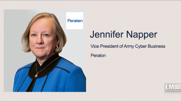 Peraton Seeks to Provide Army Better Visibility Across Networks; Jennifer Napper Quoted - top government contractors - best government contracting event