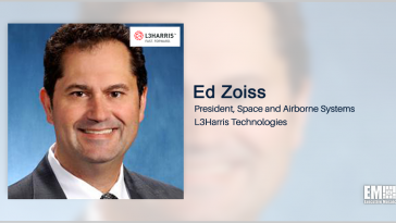 NASA Picks L3Harris for Weather Prediction Modeling Study; Ed Zoiss Quoted - top government contractors - best government contracting event