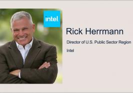 Executive Spotlight: Rick Herrmann, Director of U.S. Public Sector Region at Intel - top government contractors - best government contracting event