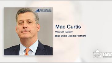 GovCon Veteran Mac Curtis Becomes Venture Fellow at Blue Delta - top government contractors - best government contracting event