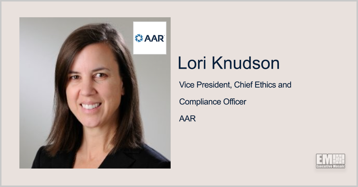 Lori Knudson Joins AAR as VP, Chief Ethics & Compliance Officer