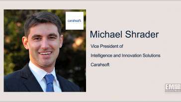 Q&A With Michael Shrader of Carahsoft Exploring Emerging Technology Value for Government Agencies - top government contractors - best government contracting event