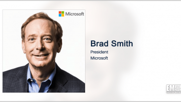 Microsoft's Brad Smith: Governments, Companies Should Cooperate to Combat Cyber Attacks - top government contractors - best government contracting event