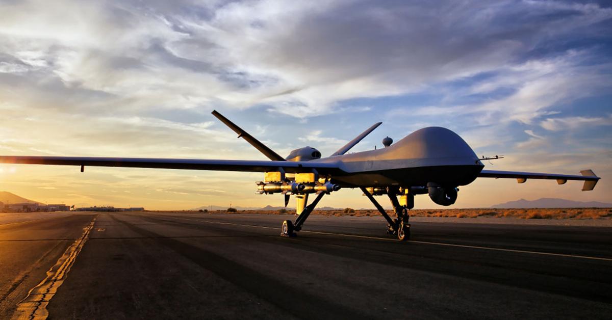 Marines Take Ownership of 2 General Atomics-Built Reaper Drones
