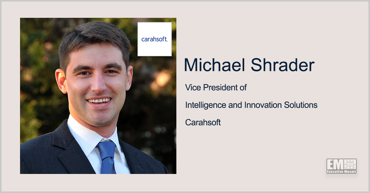 Q&A With Michael Shrader of Carahsoft Exploring Emerging Technology Value for Government Agencies