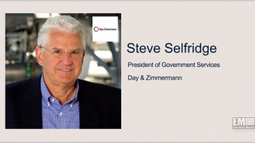 Executive Spotlight: Steve Selfridge, President of Government Services at Day & Zimmermann - top government contractors - best government contracting event