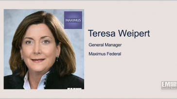 Executive Spotlight: Teresa Weipert, General Manager of Maximus Federal - top government contractors - best government contracting event